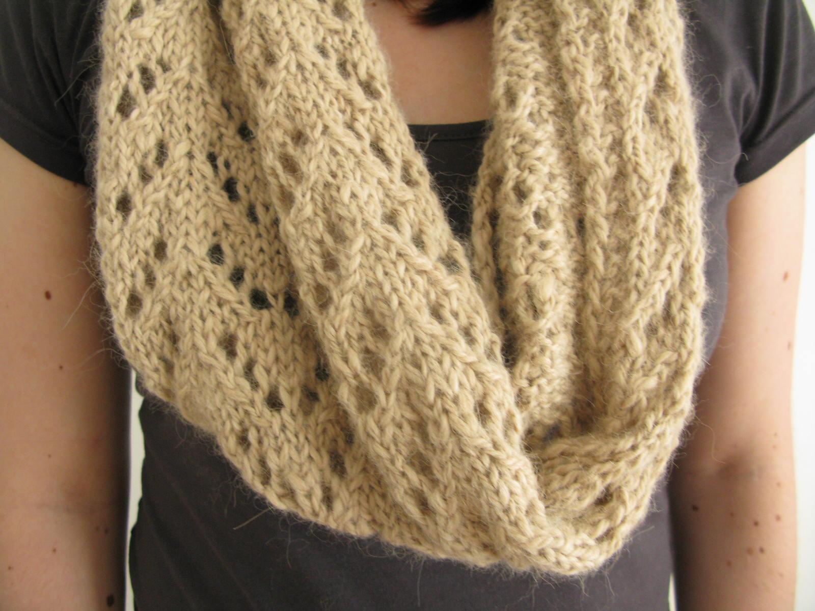 Free Knitting Pattern For Eyelet Cowl : Spinning Caora Fibres