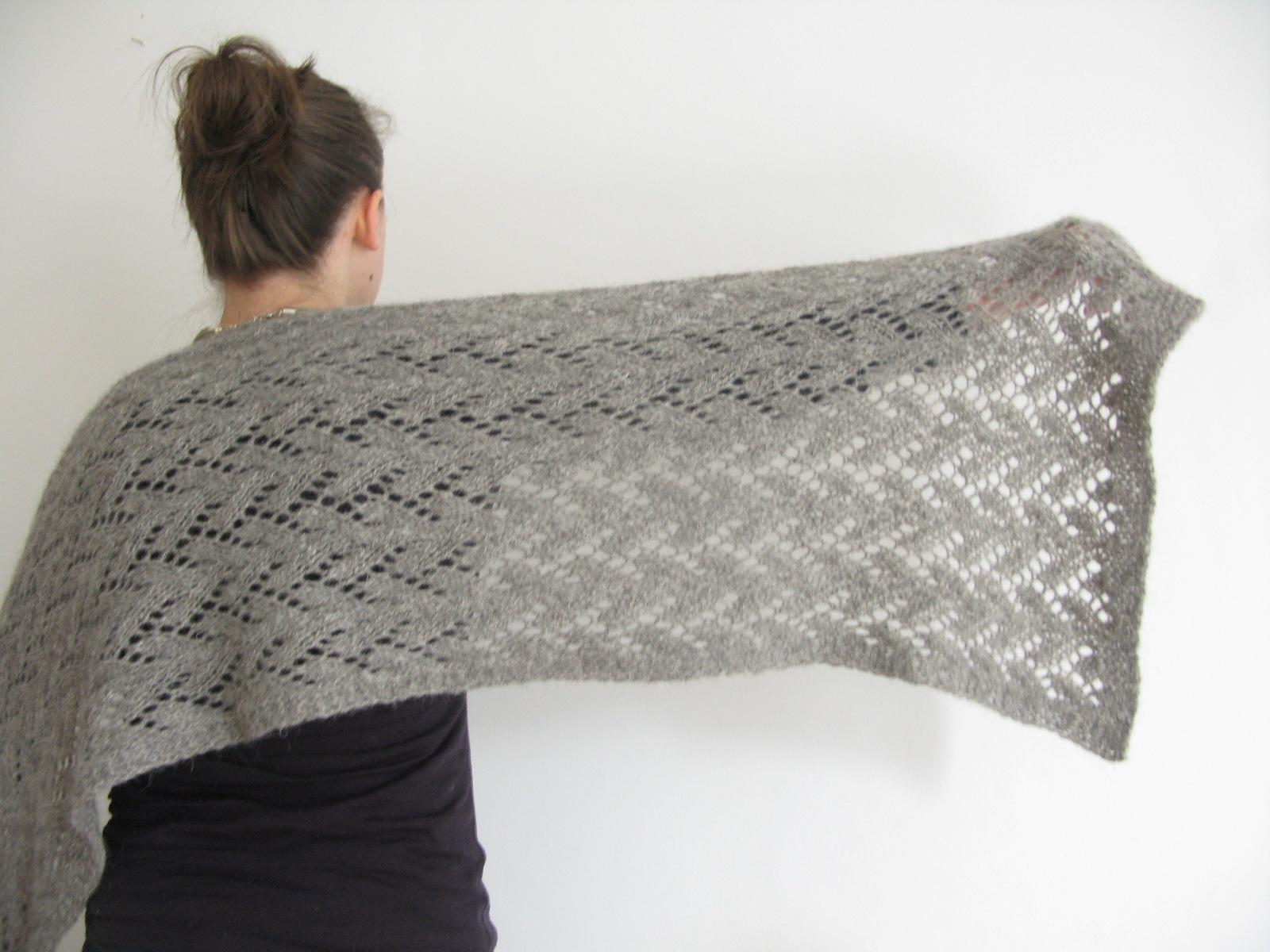 Knitting Pattern Wrap : Knitting Patterns Caora Fibres