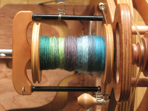 spinning keeping colour changes separate