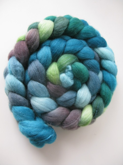 spinning fibre braid