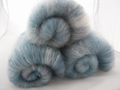 alpaca merino silk batts